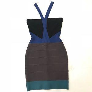 HERVE LEGER Bandage Dress Sz S